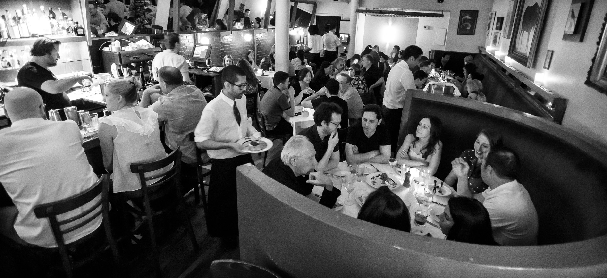 Blue Ribbon Brasserie Dining Room
