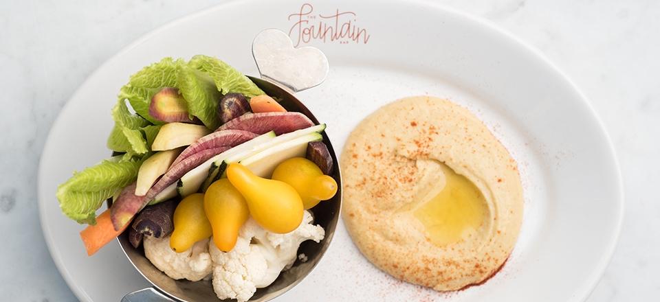 Hummus & Farmer's Market Crudite