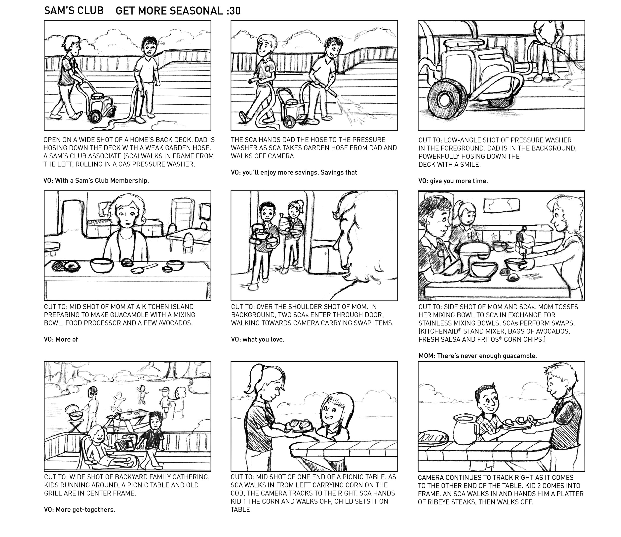 Storyboards Michelle Diaz