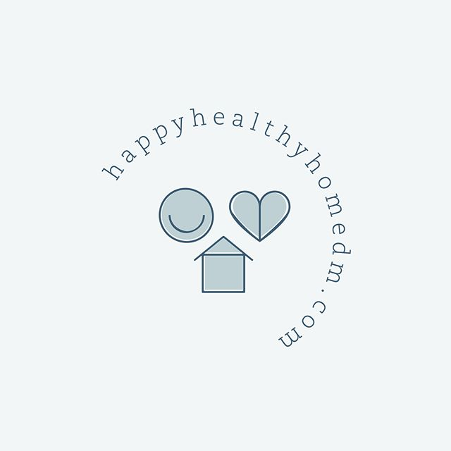 I did a little spring 🌷🌿cleaning the other day and thought I'd share this logo brand/website design for @happy.healthy.home.dm ✨Long live simple, fresh and clean! 🙌🏼 #getorganized #happyhealthyhome . . .  #katieloertsportfolio
