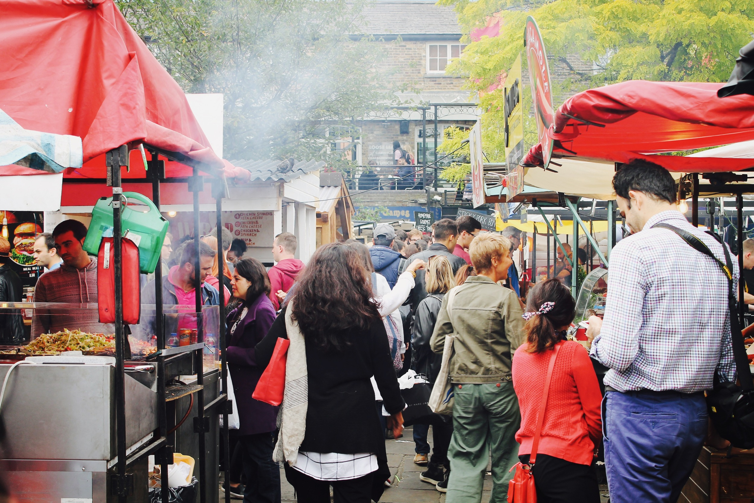 The crowds at Camden Lock Market.JPG