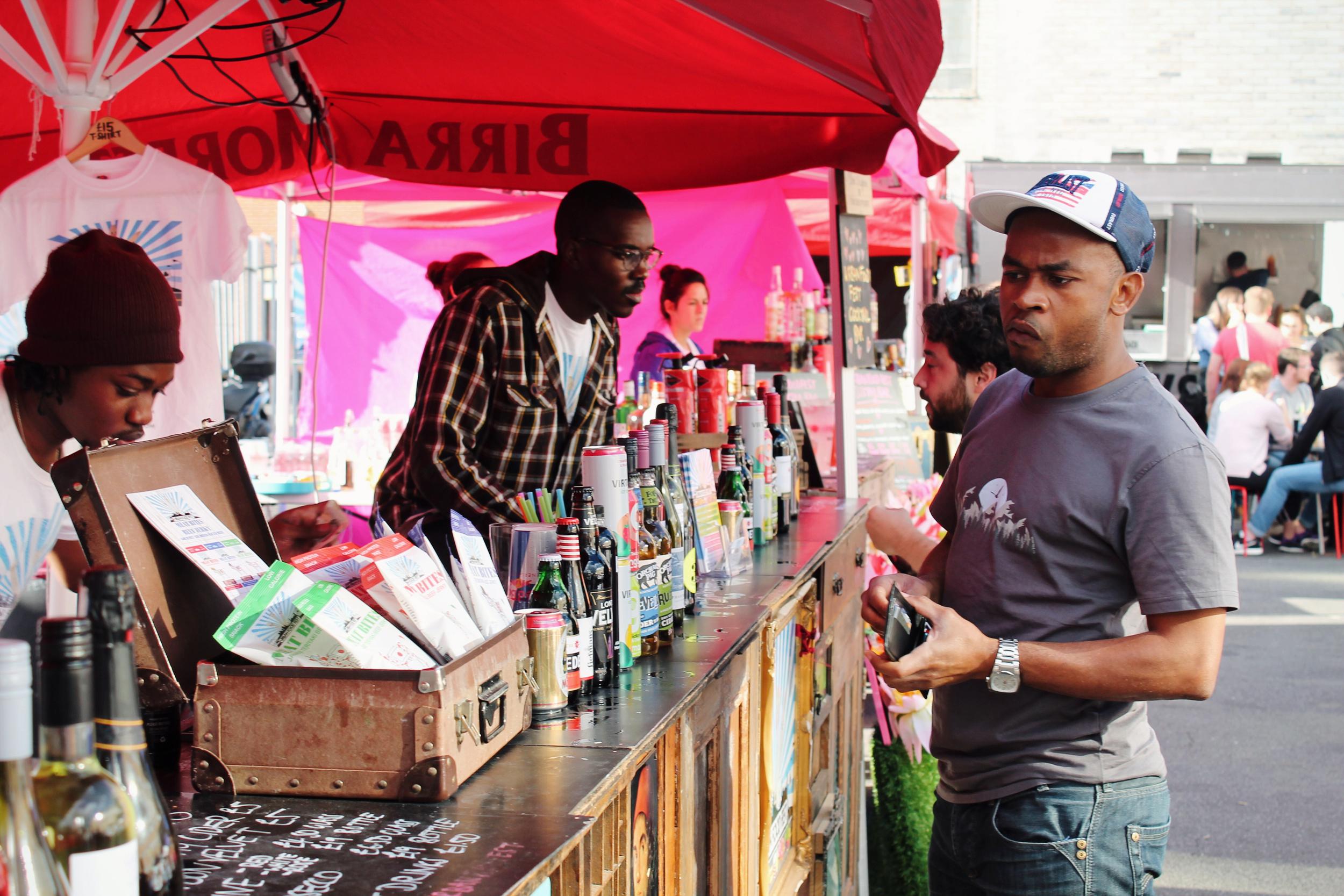 the bar at Urban Food Fest.JPG