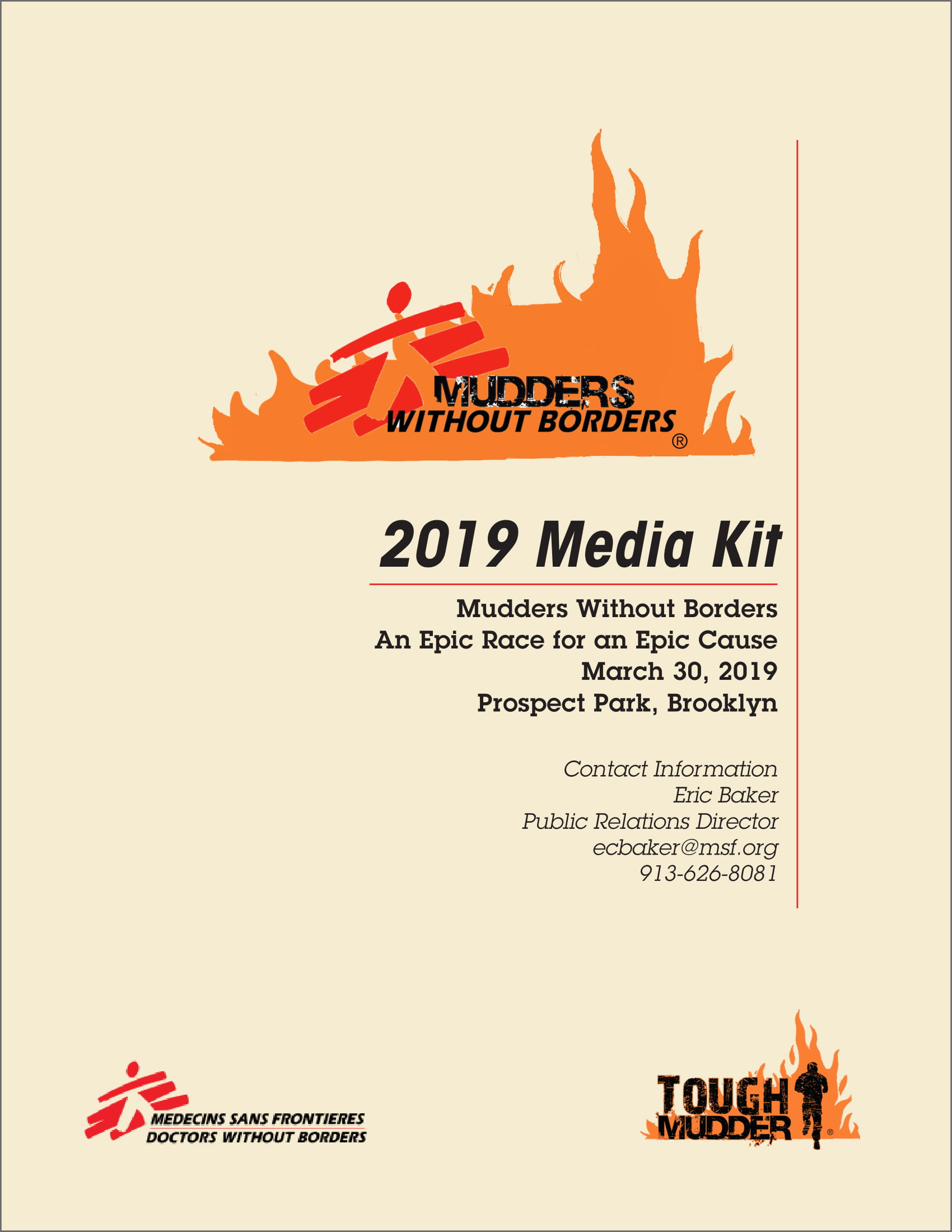 Media Kit Cover Page