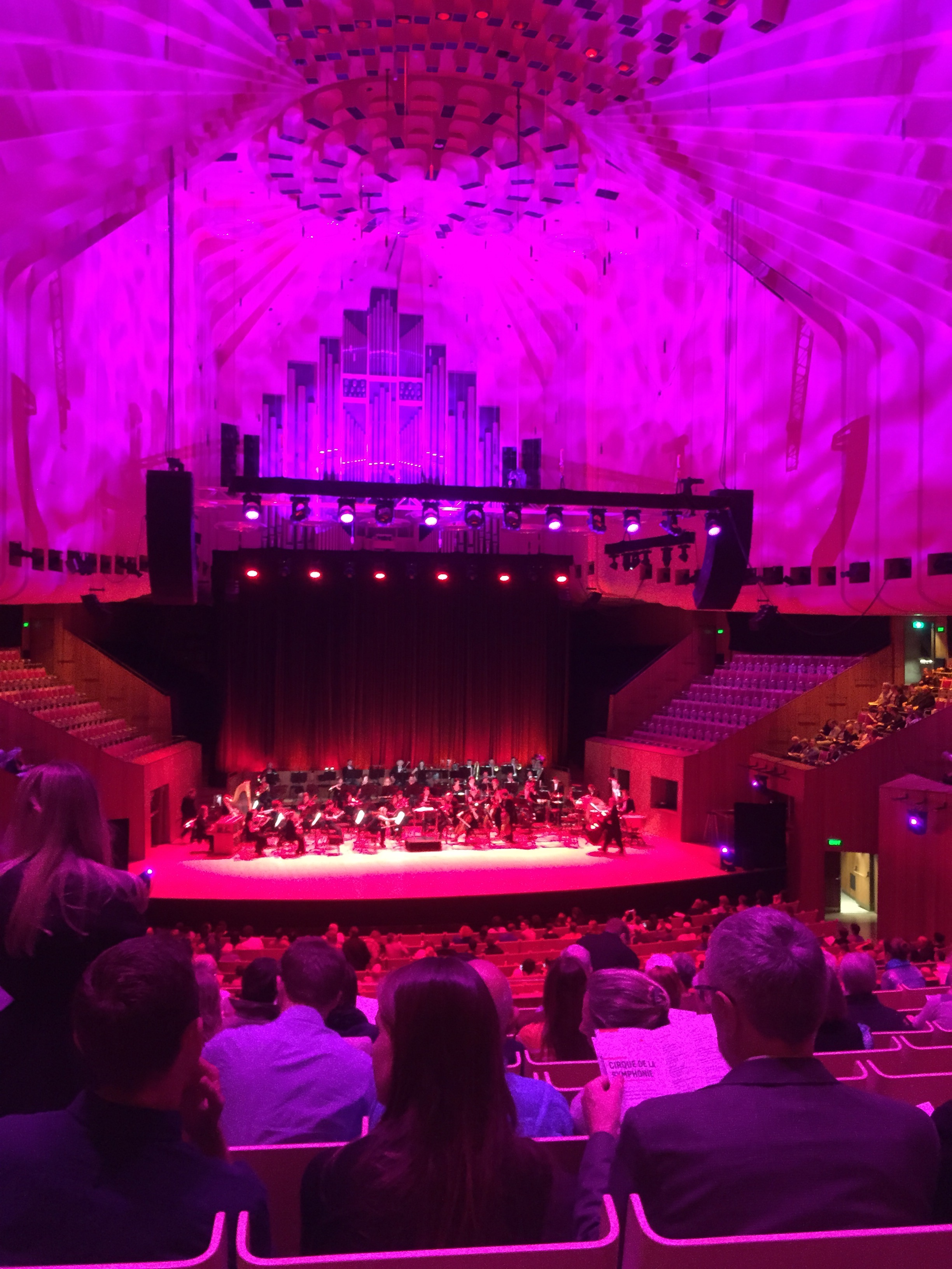 Cirque de la Symphony at the Sydney Opera House