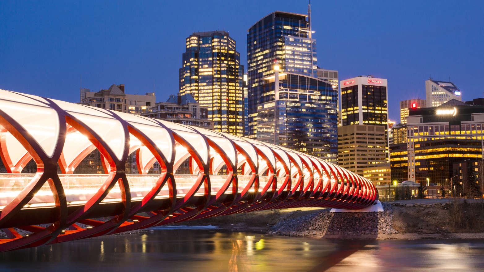 Calgary's Peace Bridge.Chris Bolin