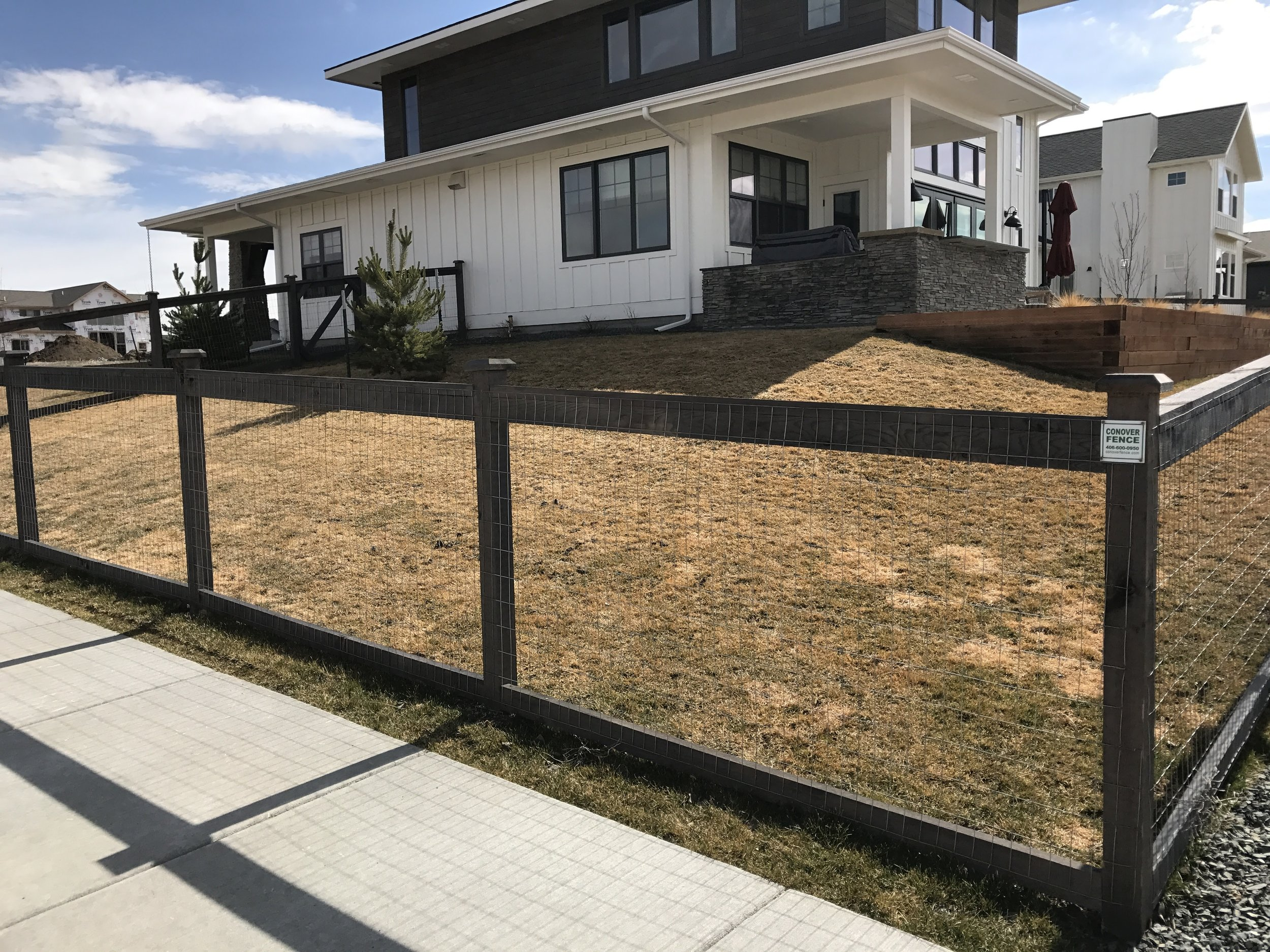 """""""Baxter Meadows"""" open fence style"""