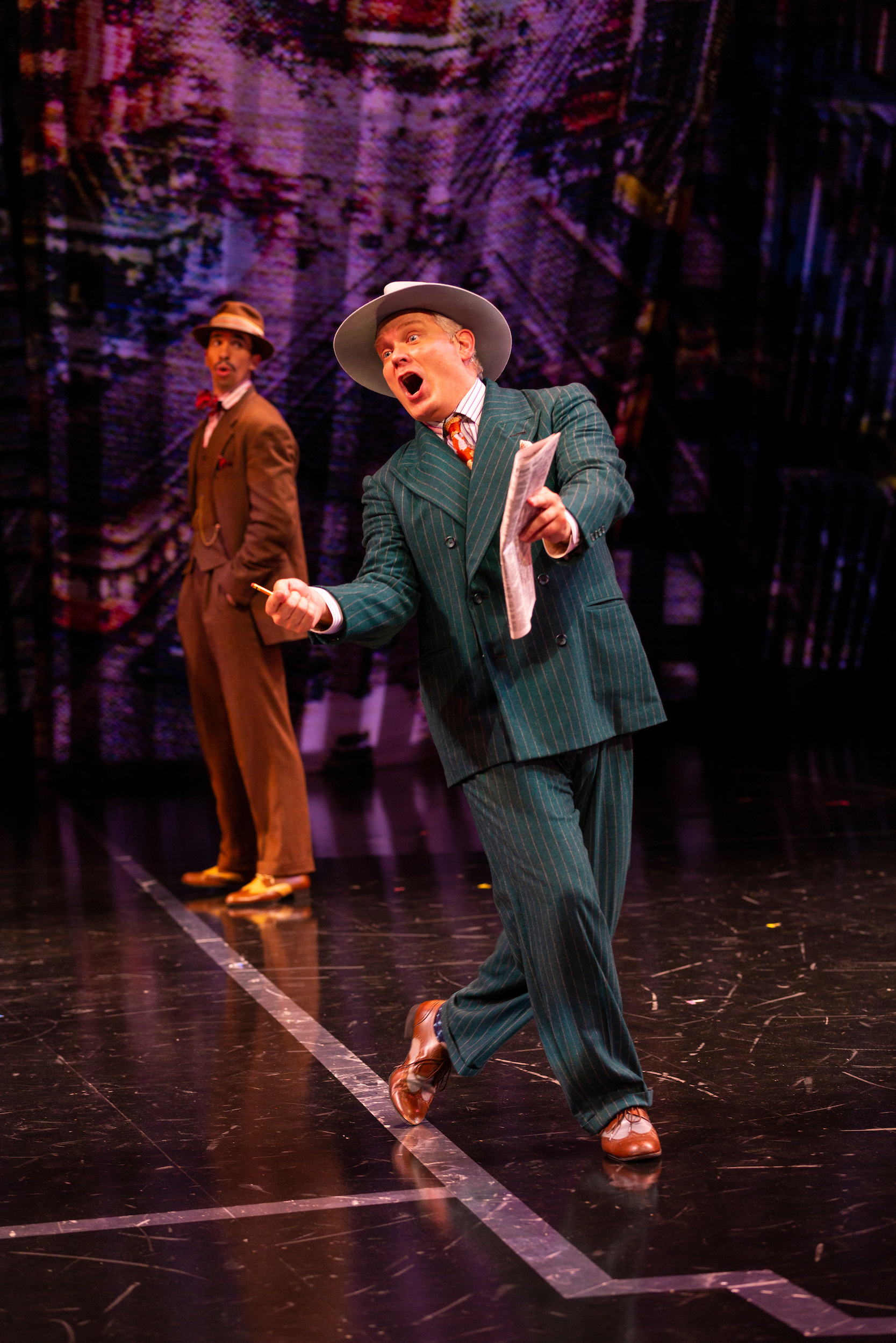 Guys & Dolls, Guthrie Theater 2019  Photo by T Charles Erickson