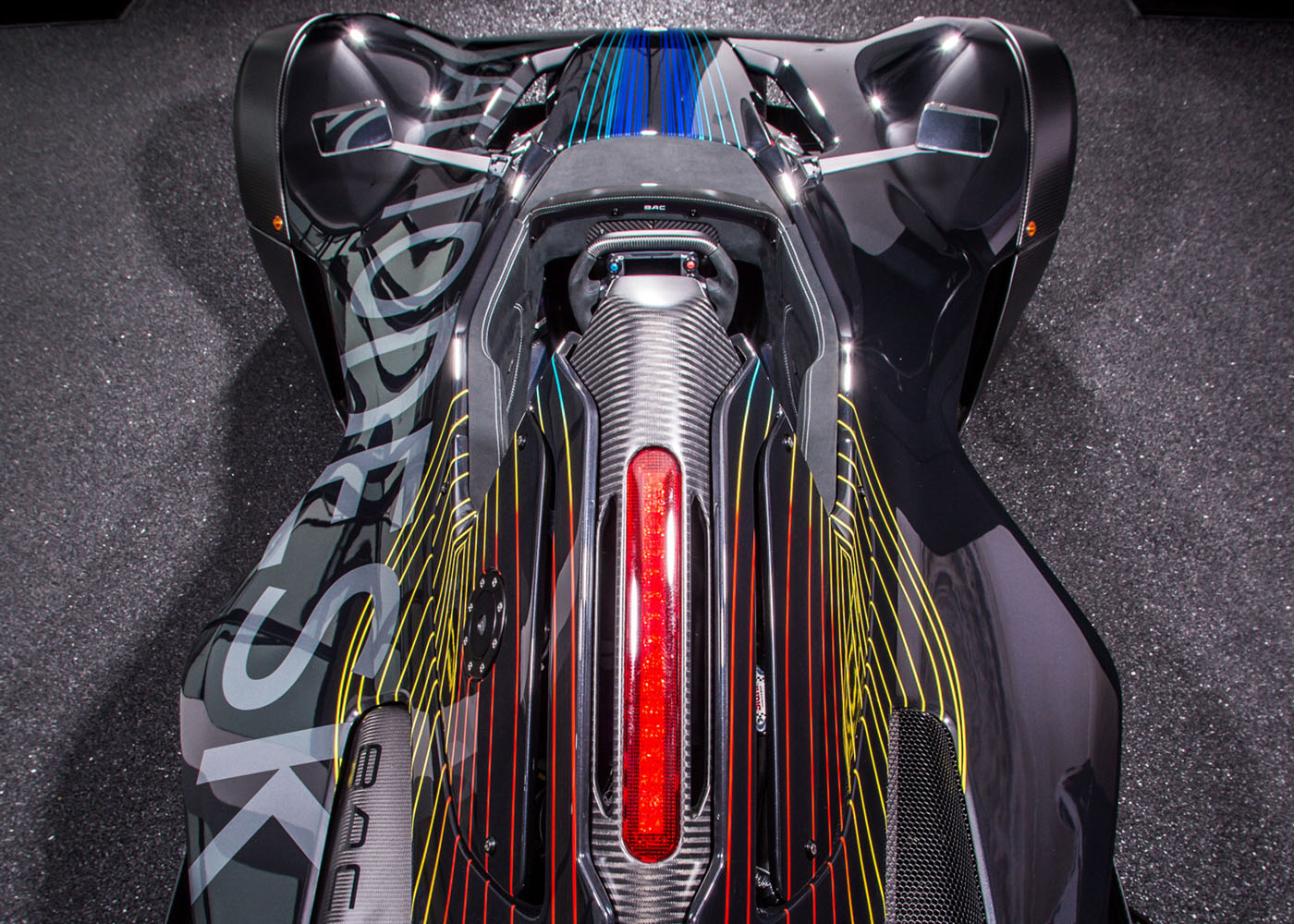 The result - The Autodesk Mono is now a mobile embodiment of cutting edge automotive design and a perfect exhibit of Autodesk's technologies. It makes its home at Autodesk's Birmingham Advanced manufacturing facility and makes appearances at global design and manufacturing events. image: courtesy Autodesk
