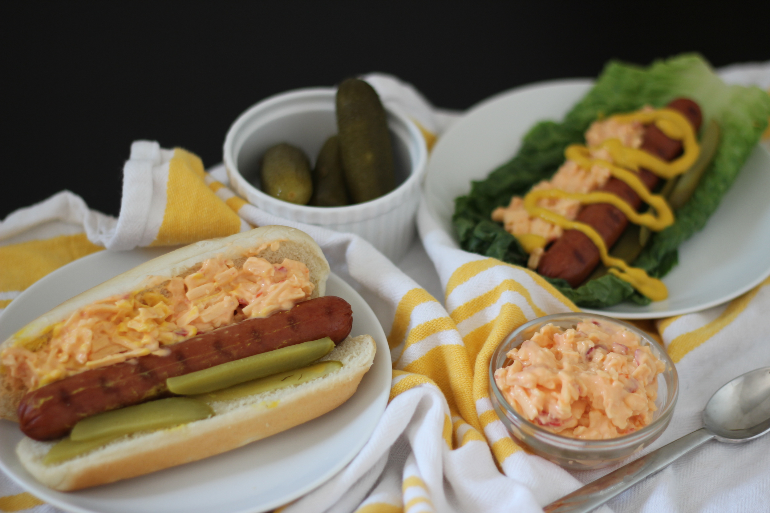 Freckled Italian | Pimento Cheese Dogs