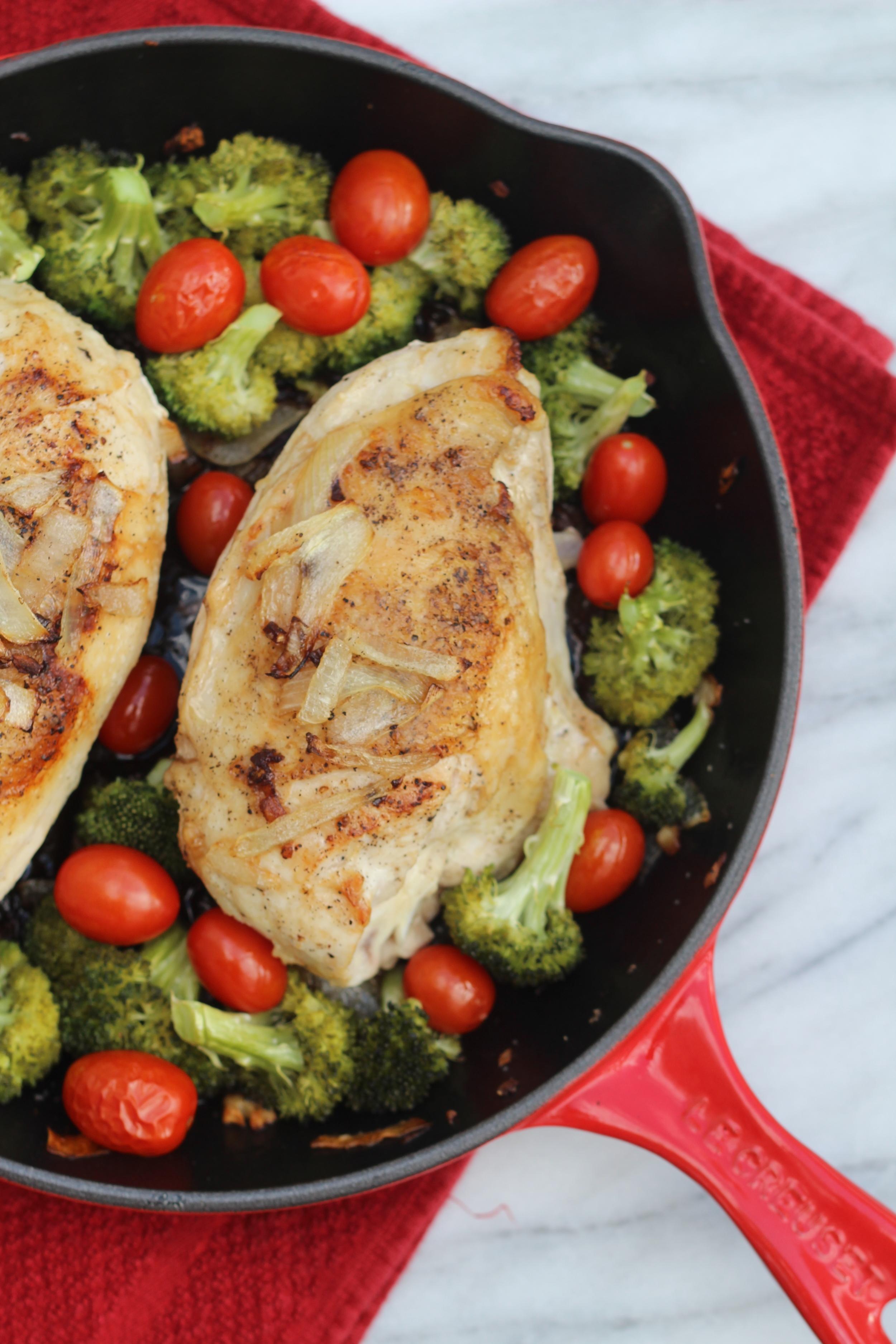 Easy One-Pot Paleo Chicken Dinner