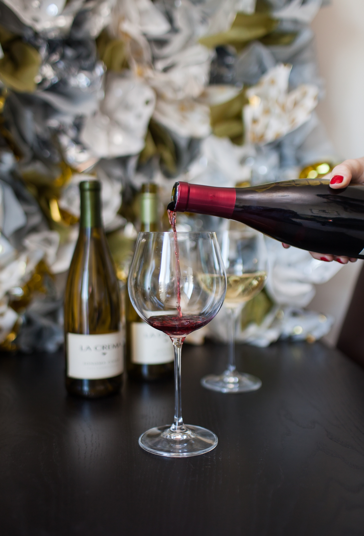 New Year's Eve Wine Pairings and Photo Booth DIY | Freckled Italian