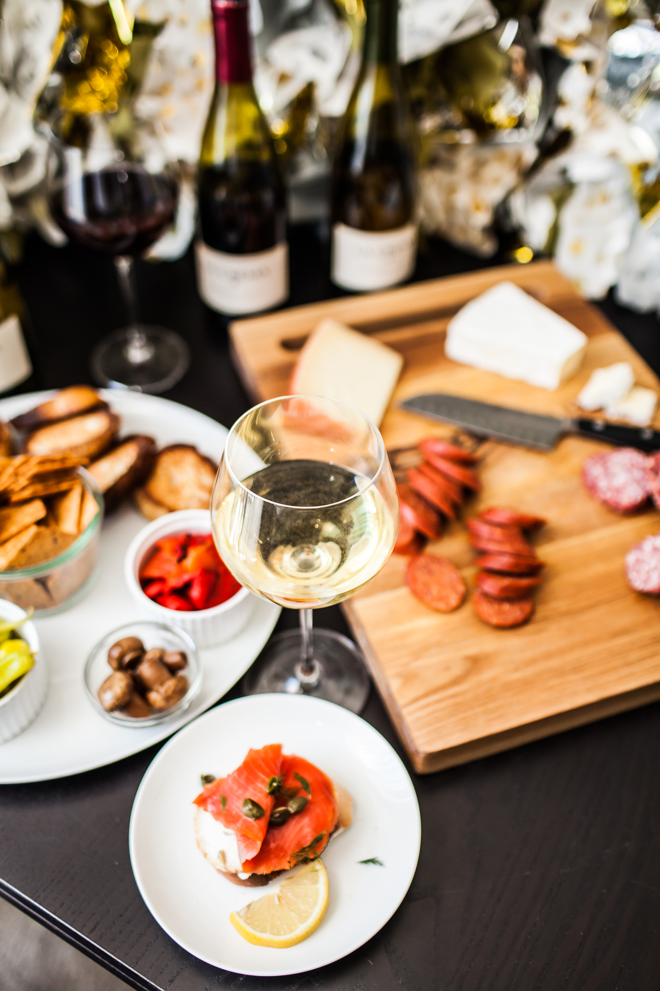 Small Plates for New Year's Eve | Freckled Italian