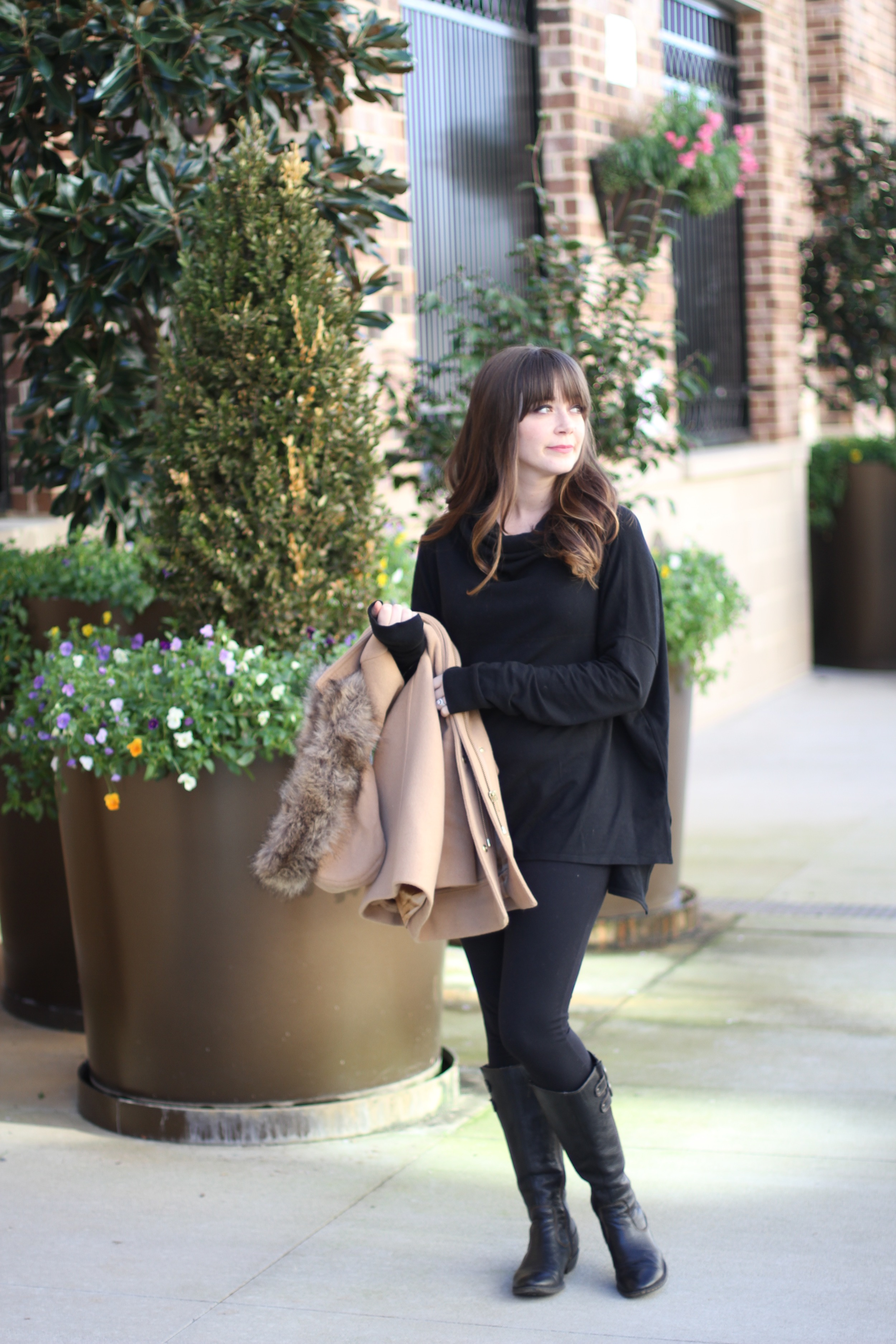 What I Wore 67: Black and Tan | Freckled Italian