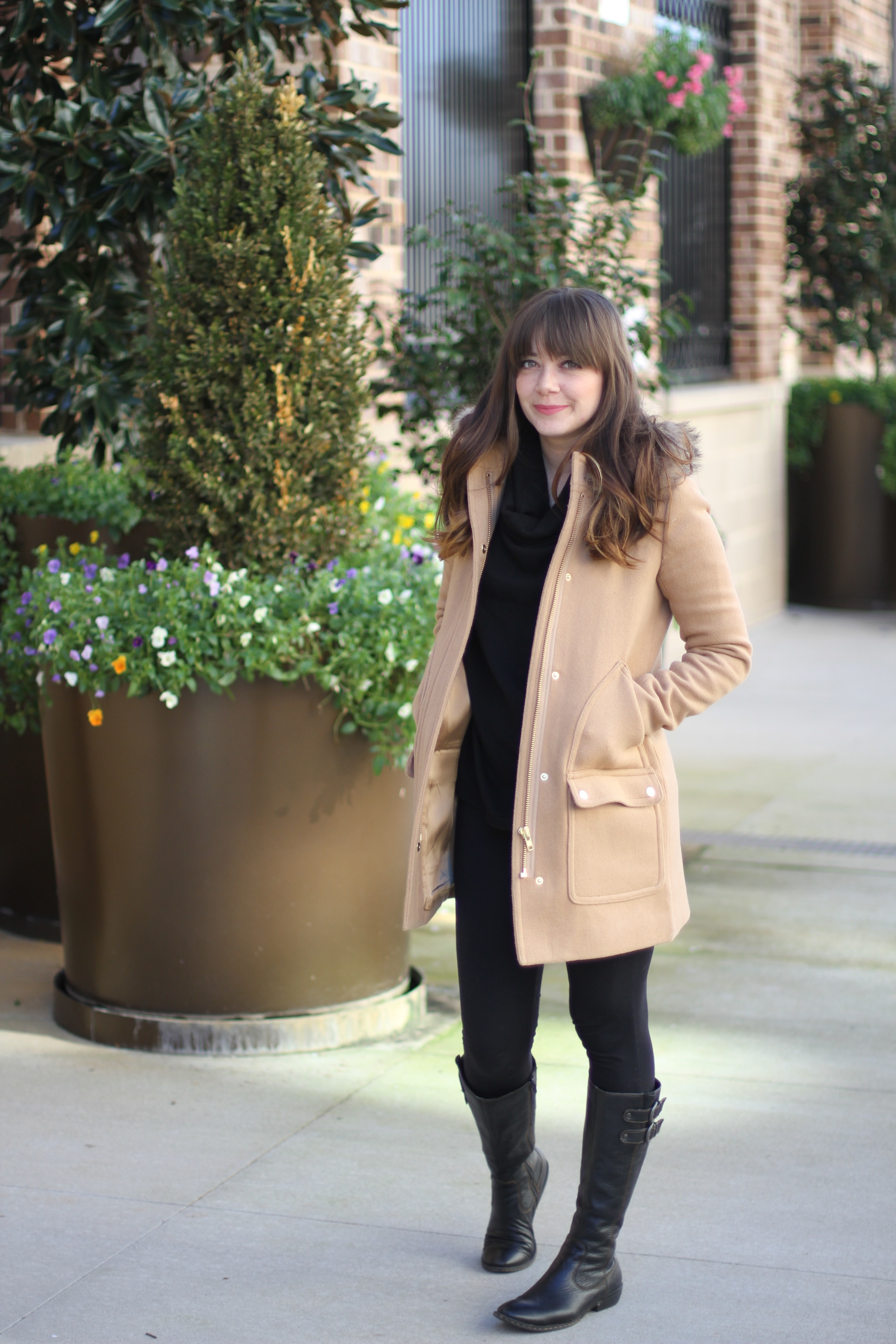 What I Wore: Black and Tan | Freckled Italian