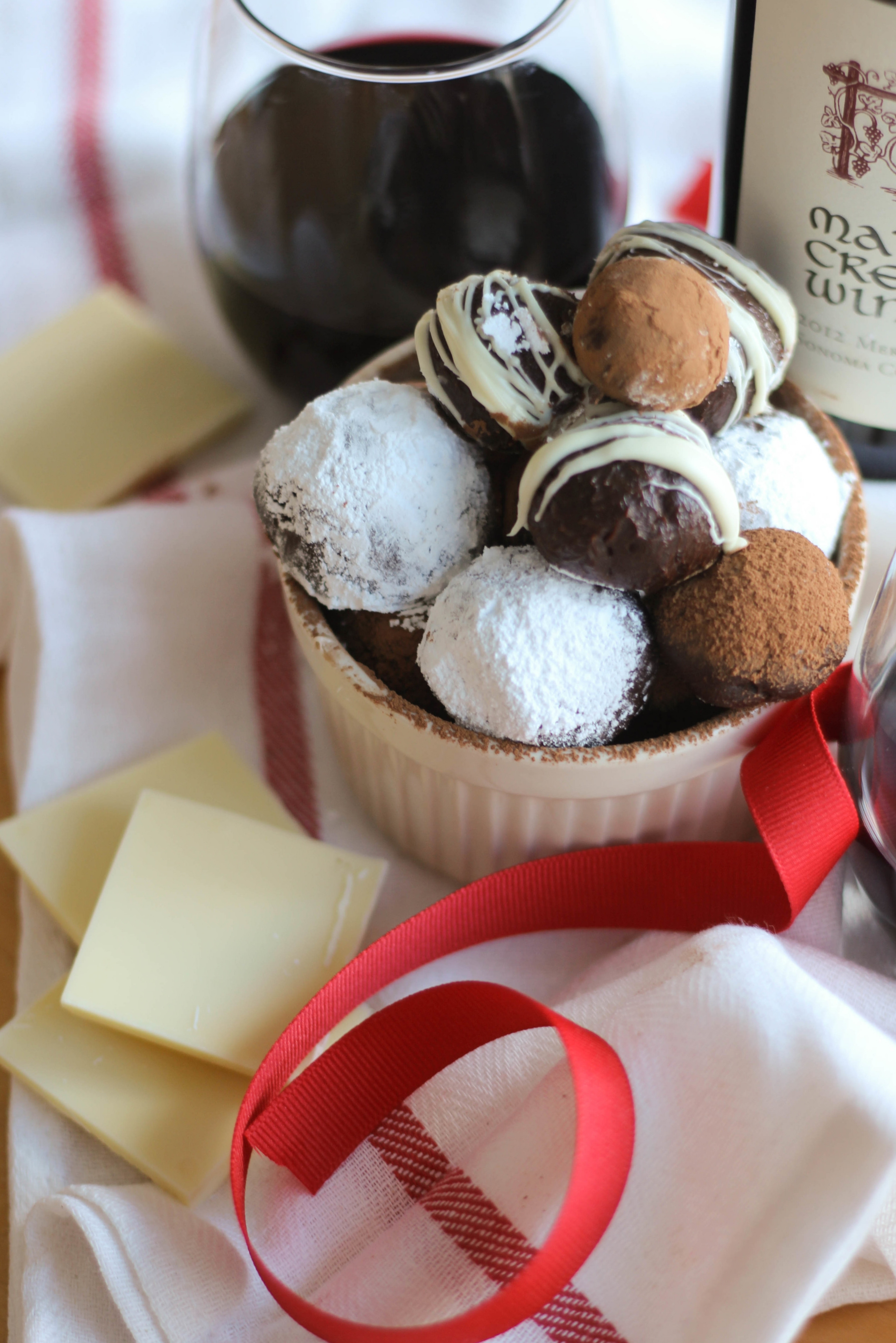 Valentine's Truffle Trade   Freckled Italian