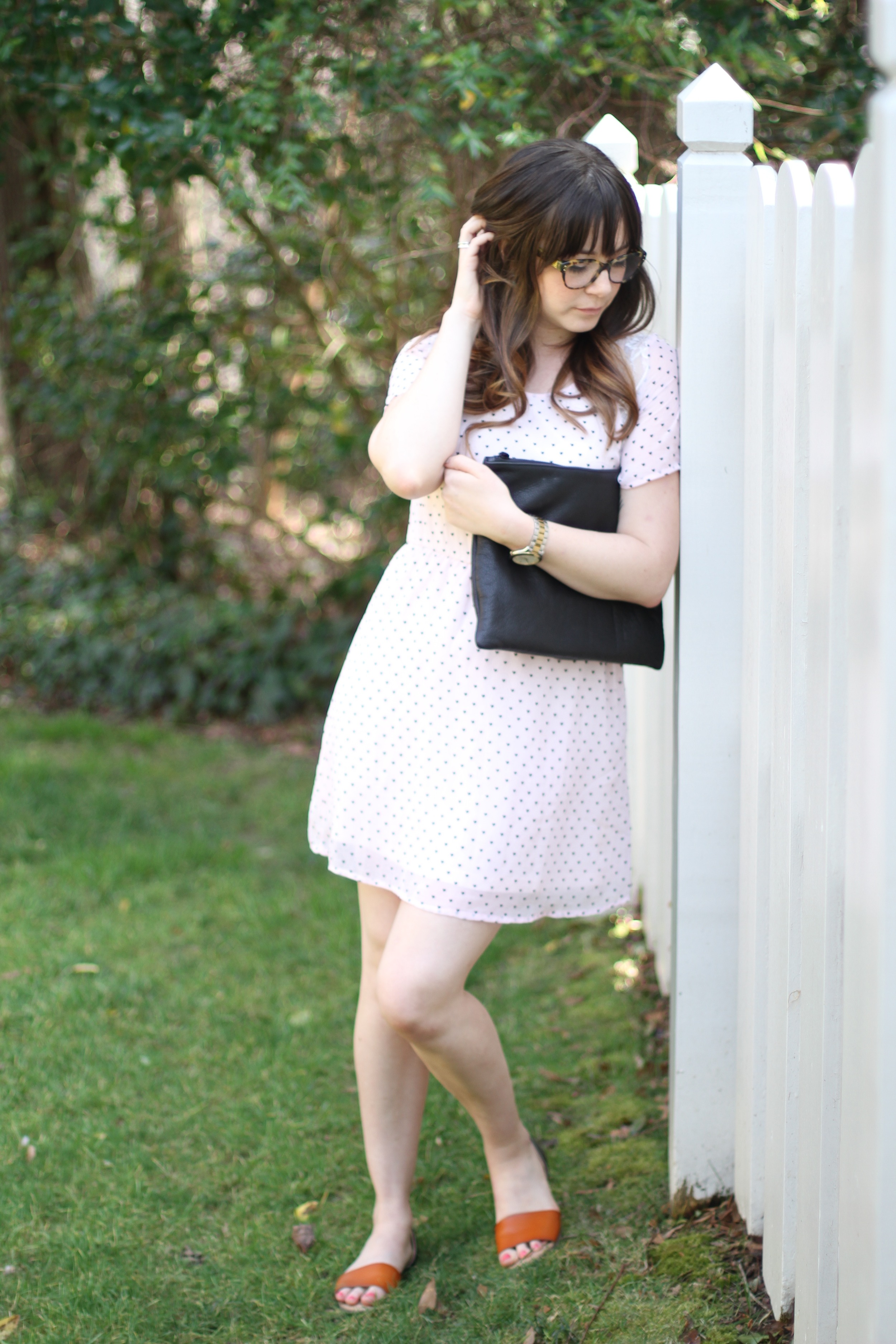 What I Wore: Pink and Black | Freckled Italian