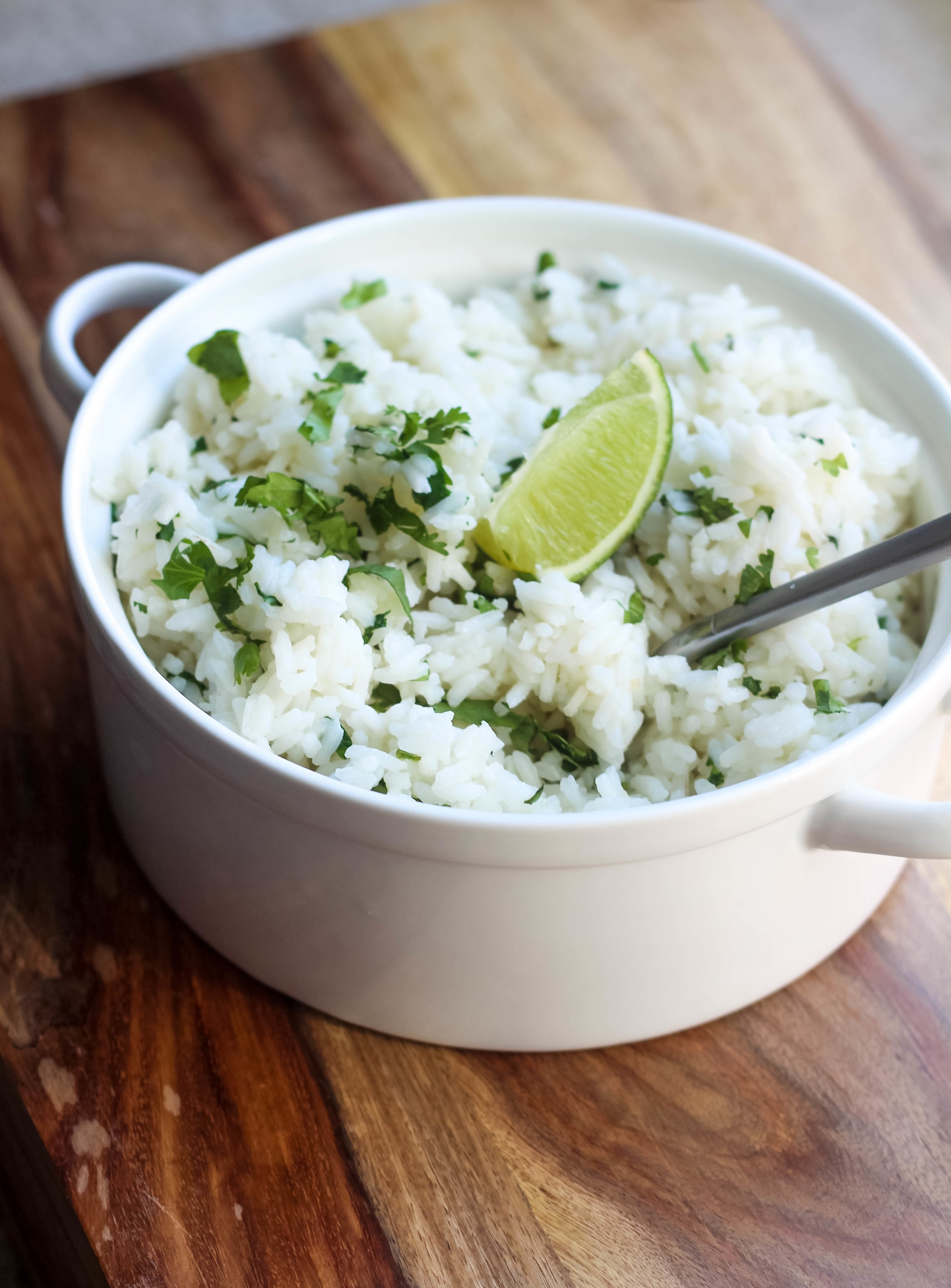 Cilantro Lime Rice | Freckled Italian