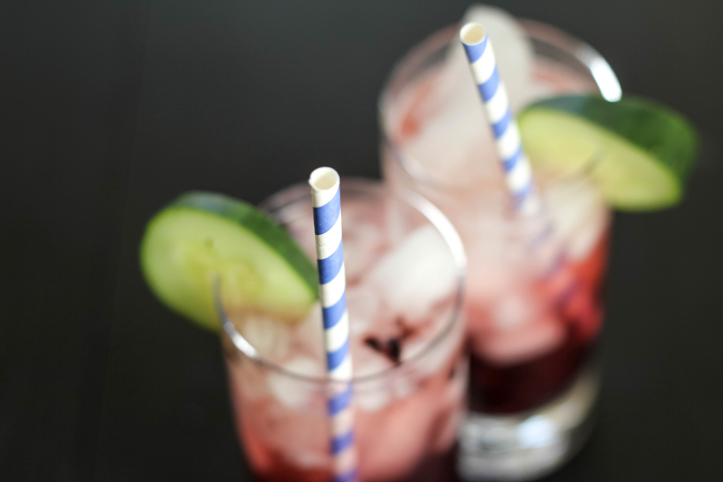 Blackberry Cucumber Fizz | Freckled Italian
