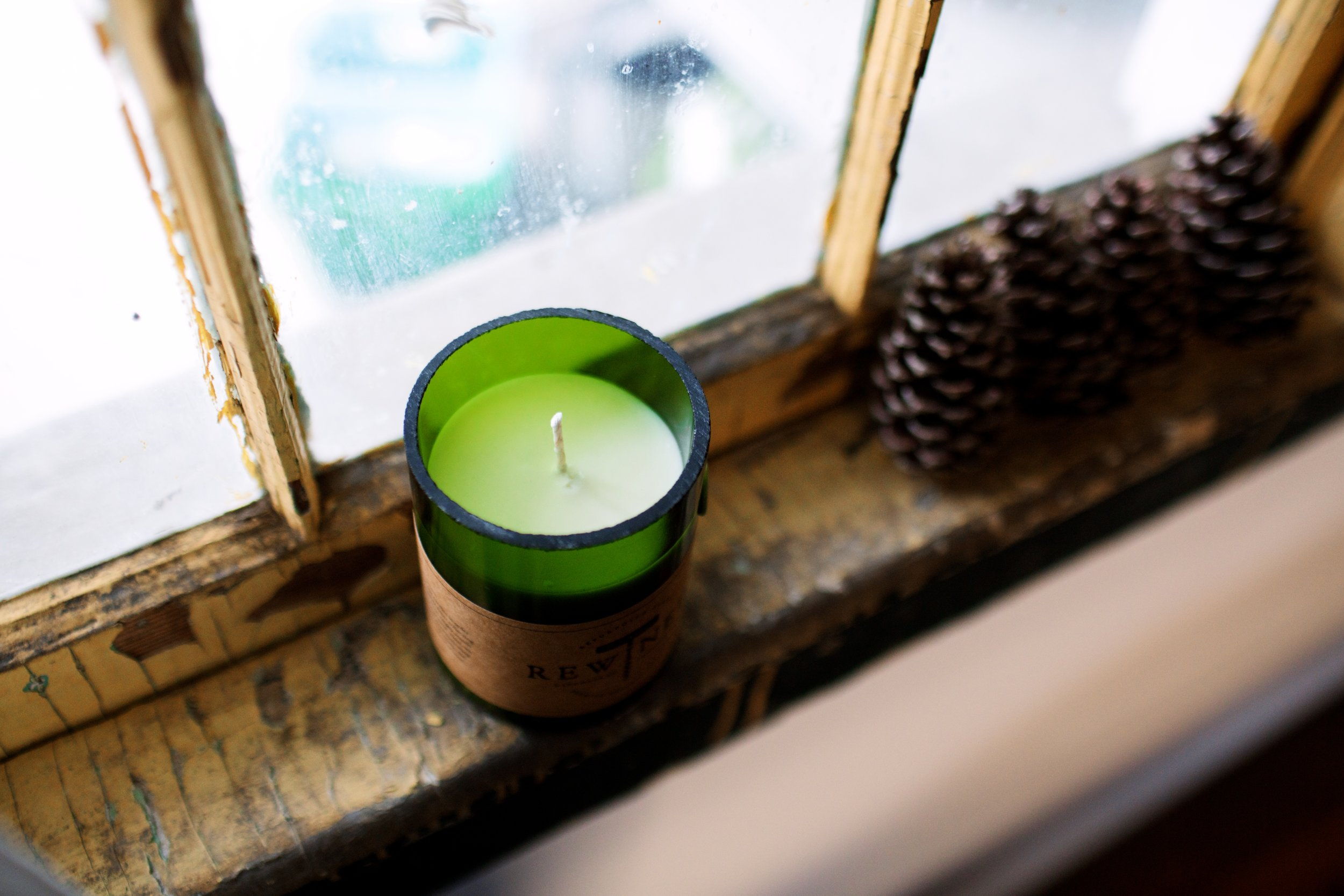 Rewined Candles Giveaway | Freckled Italian