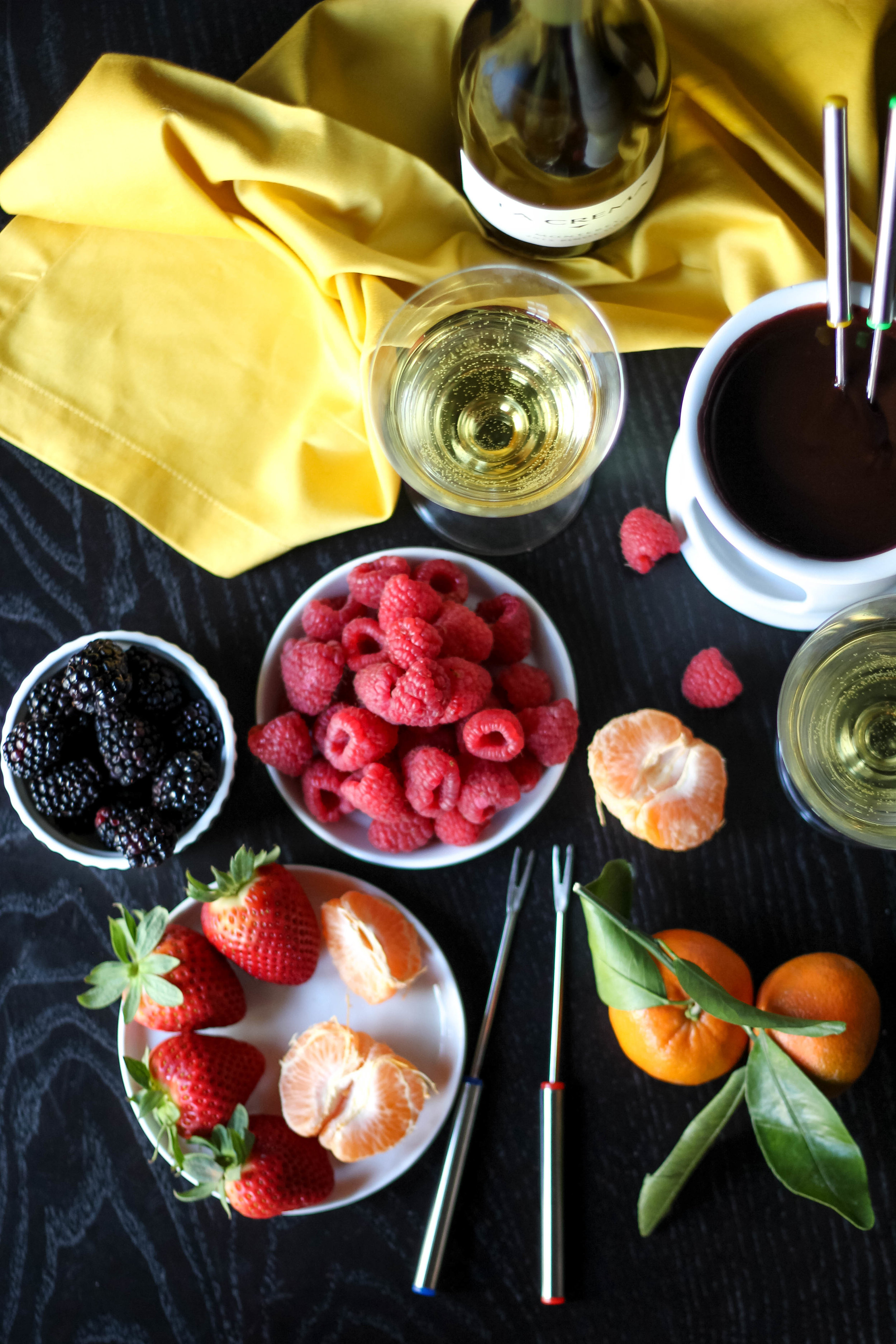 Chocolate Fondue Recipe | Freckled Italian