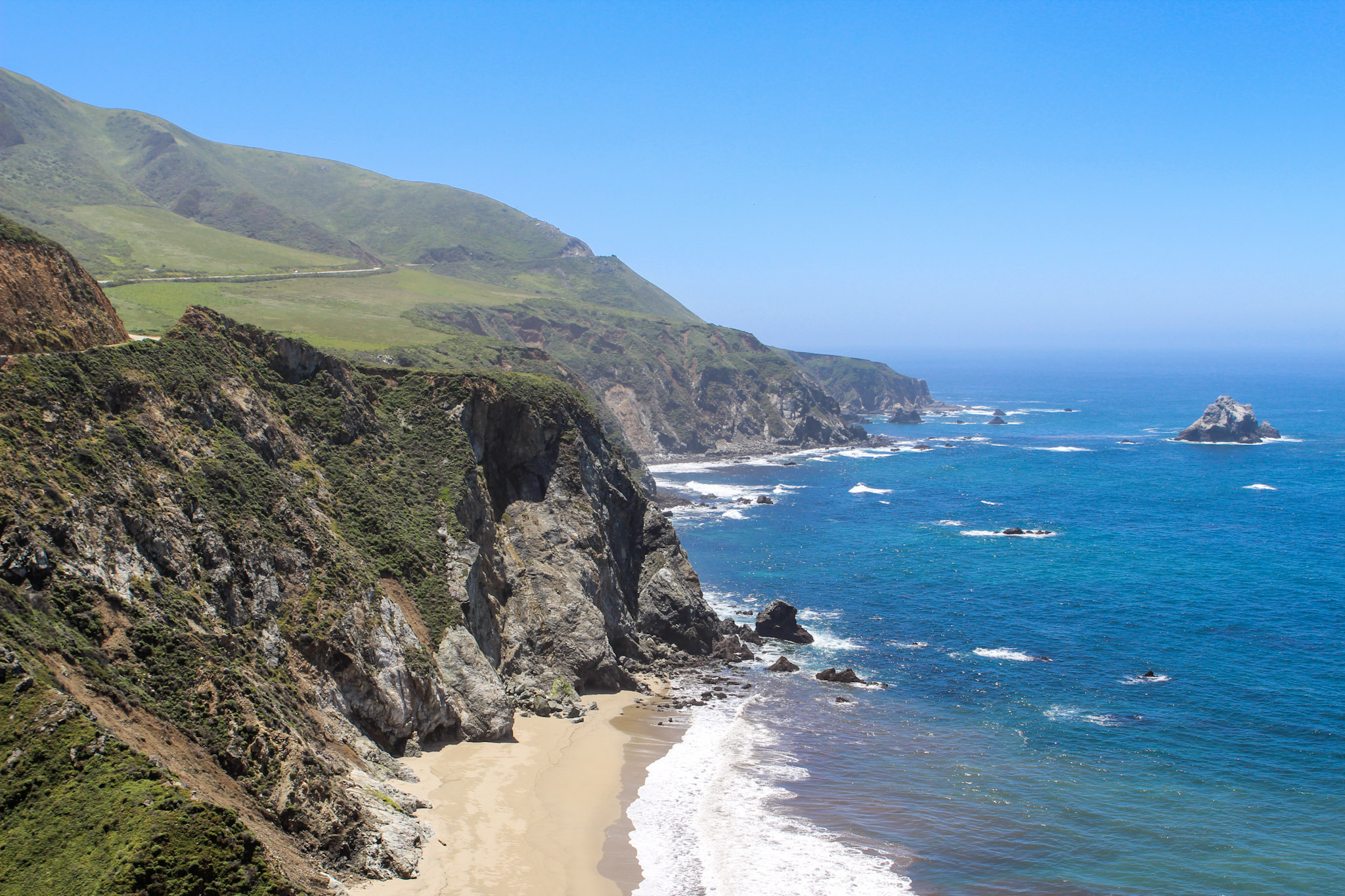 Monterey, California   Freckled Italian