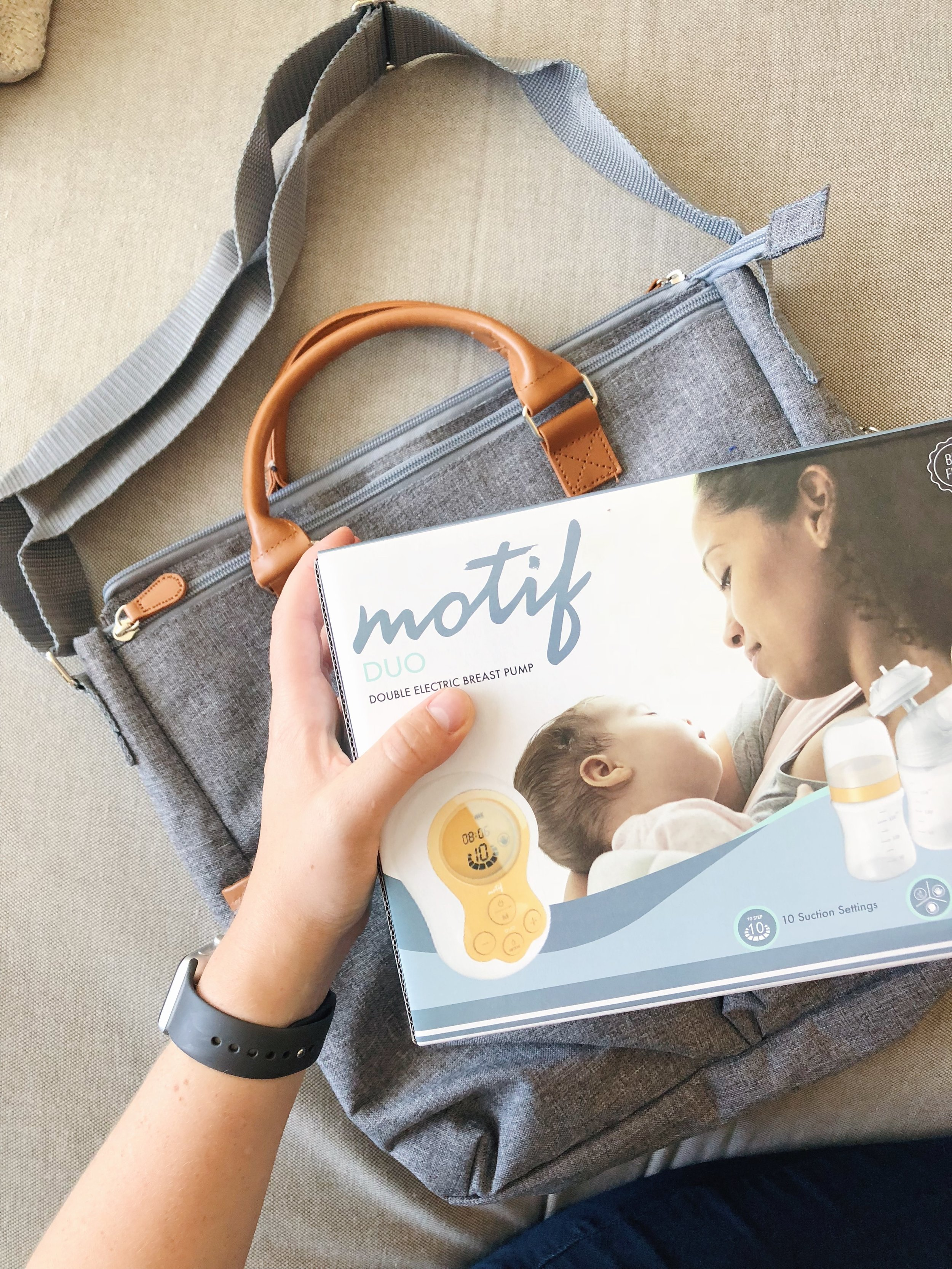 Motif Duo Breast Pump Review | Freckled Italian