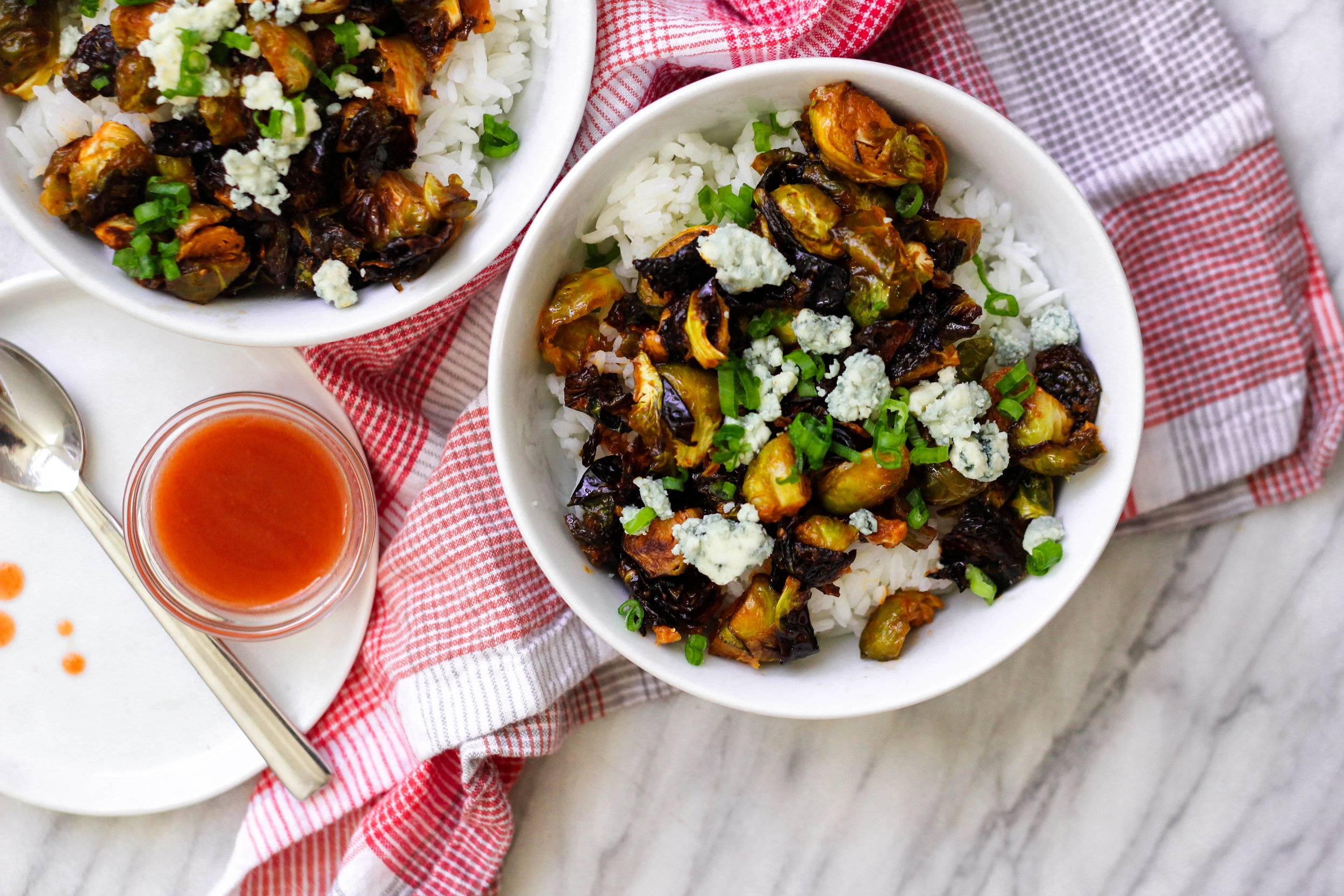 Red Hot Brussels Sprouts | Freckled Italian