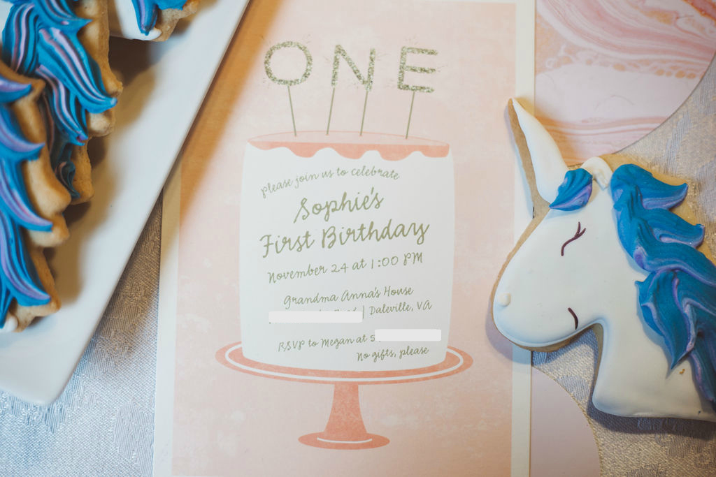 Sophie's First Birthday Party | Freckled Italian