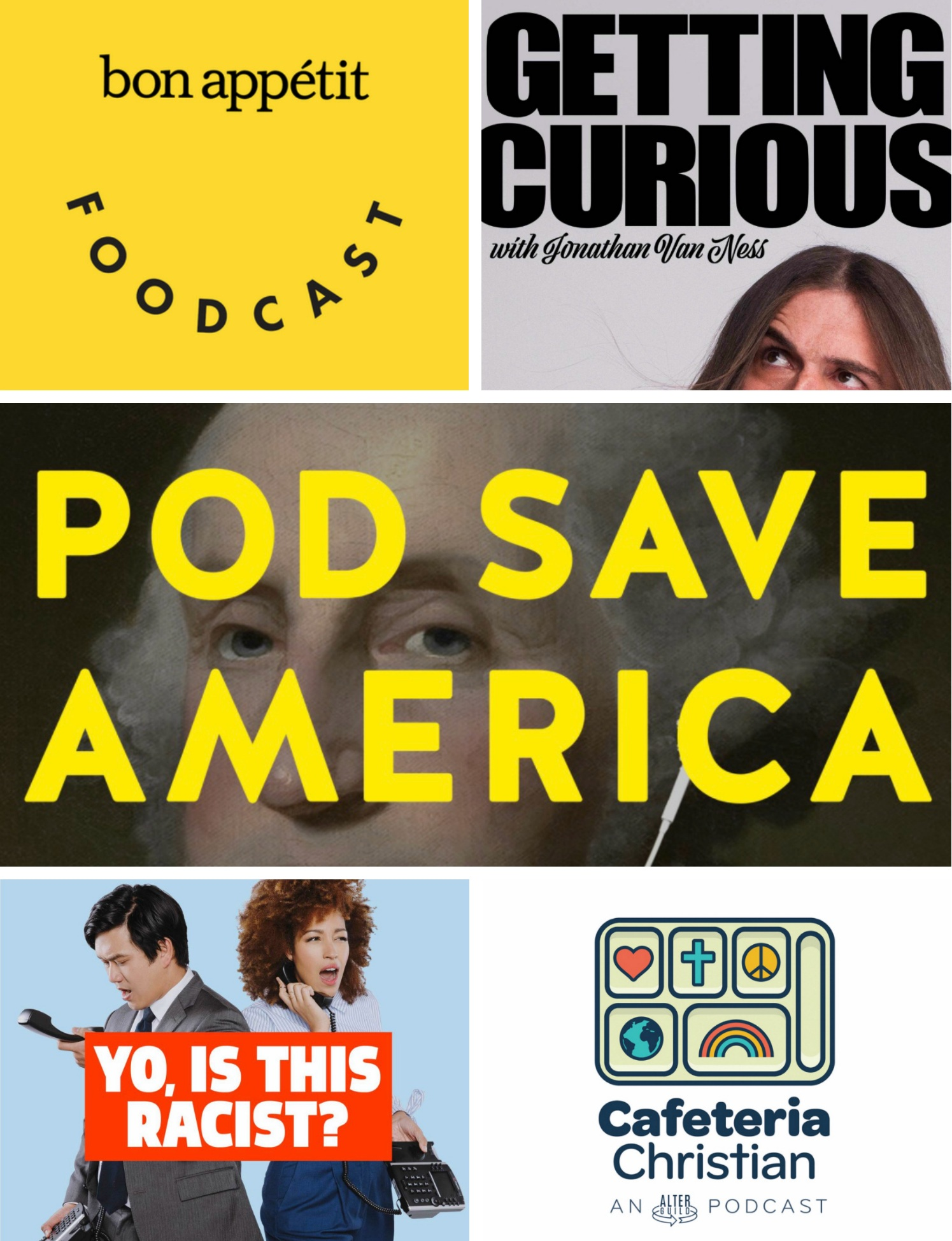 Five Favorite Podcasts | Freckled Italian