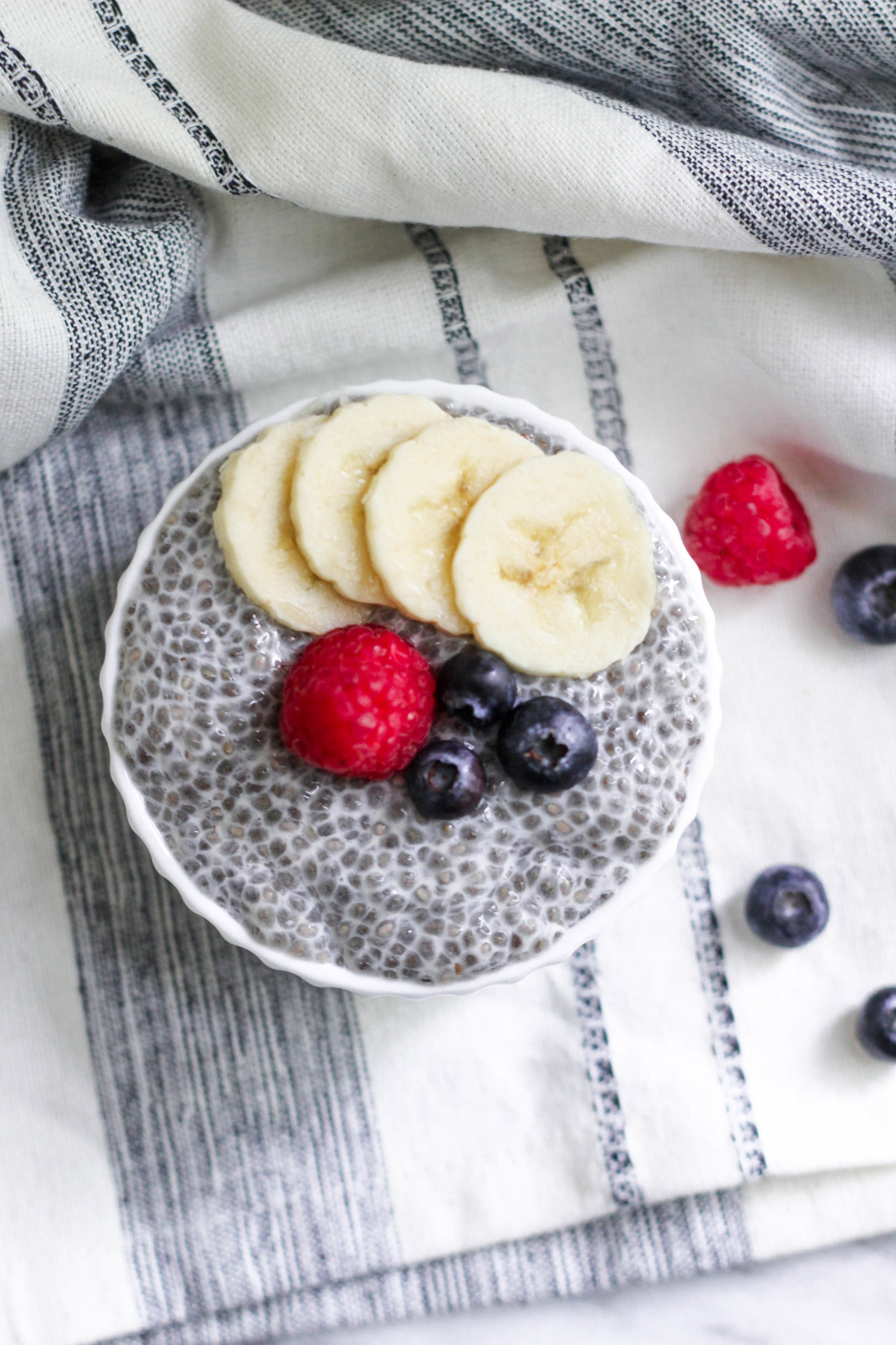 Vanilla Bean Chia Pudding | Freckled Italian