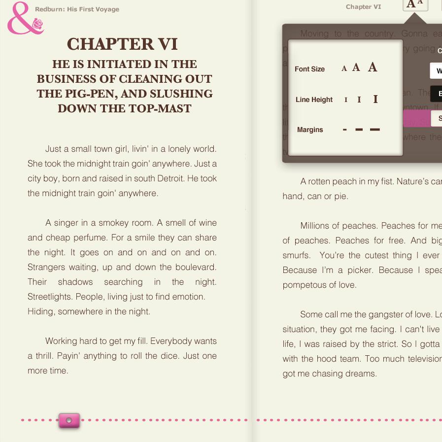 HTML5 eBOOK READER