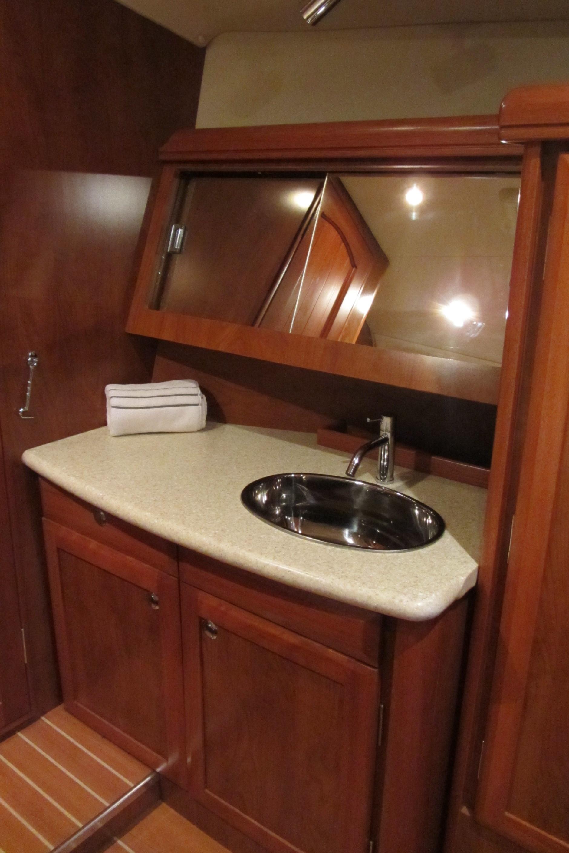 Sleeping on Luxury Yacht