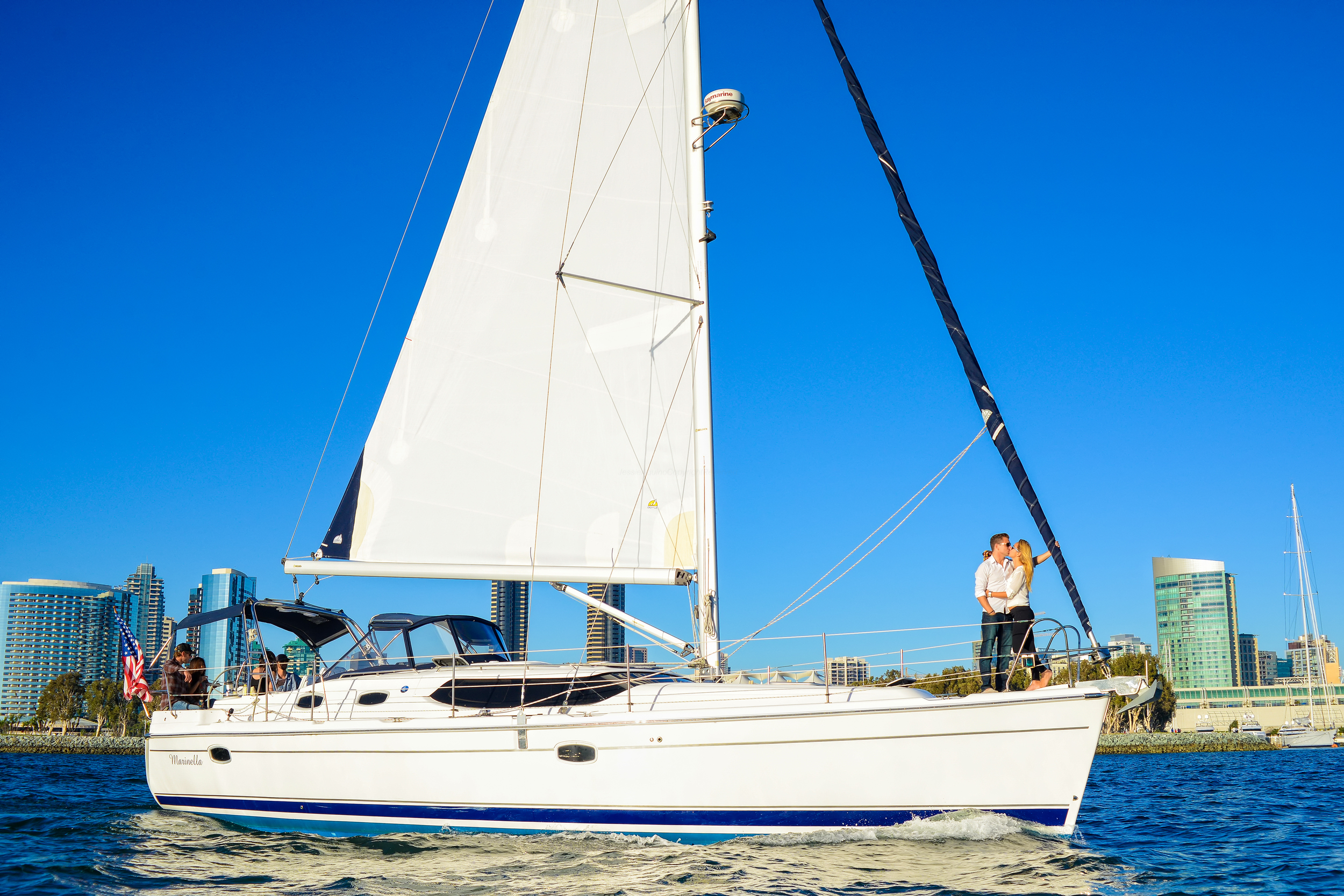 Romantic Sailing in San Diego