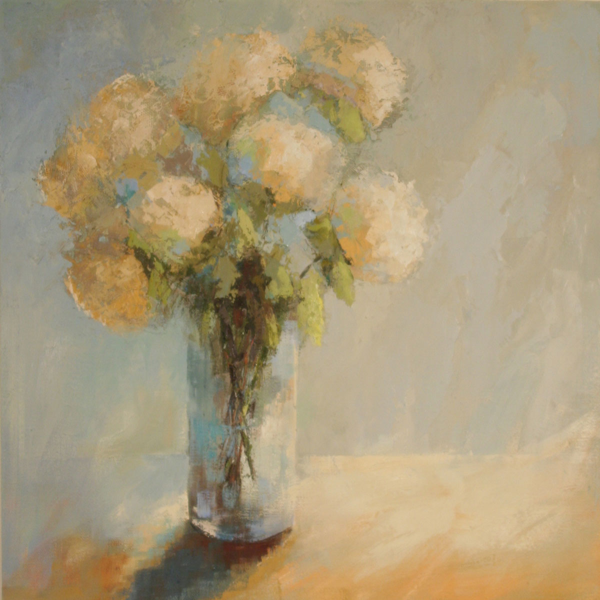 Summers Here,  30x30, Angela Nesbit  -   shown at 2014 Atlanta Symphony Decorators' Show House