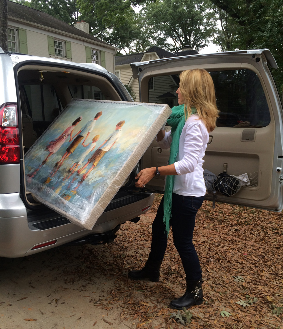 Glassner Commission Delivery, Sept 2014
