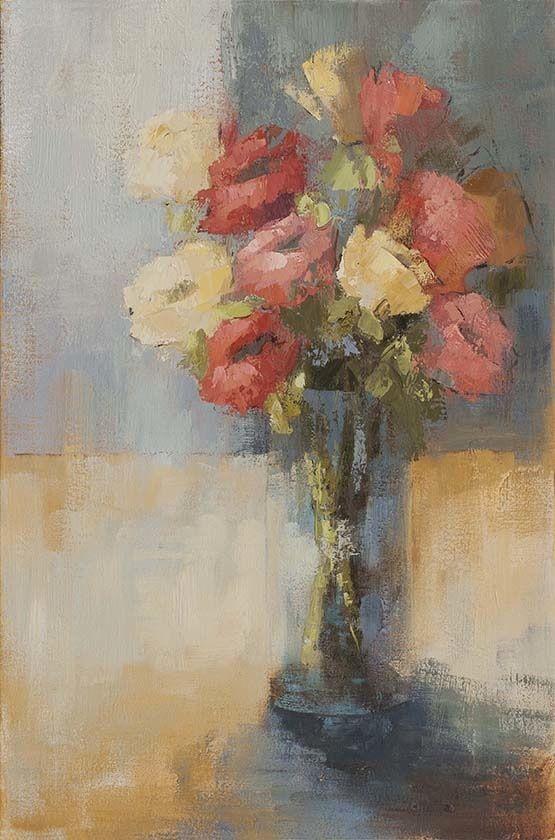 Bright Blooms 30X20