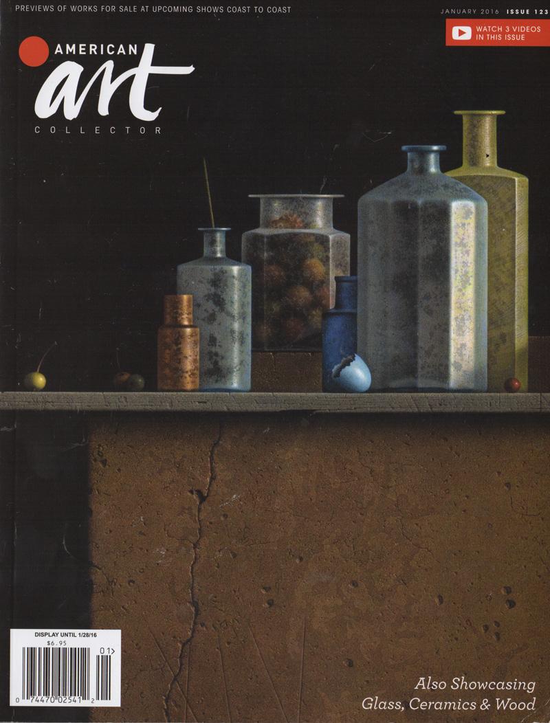 American Art Collector, Jan 2016