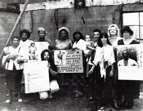 Members of the Los Angeles organizing group Mothers Reclaiming Our Children