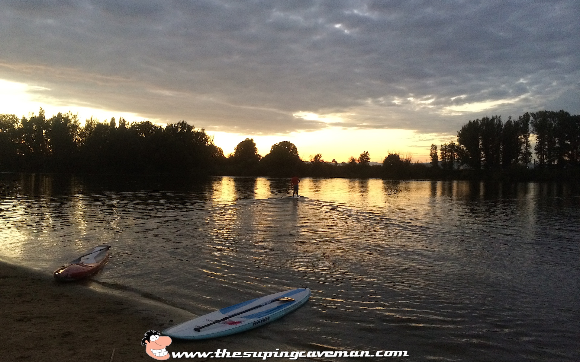Great start to the day with some high intensity SUP