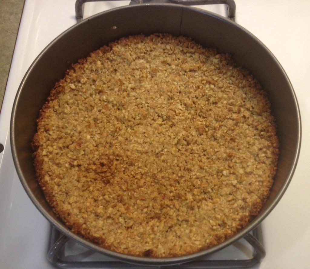 baked pecan crust