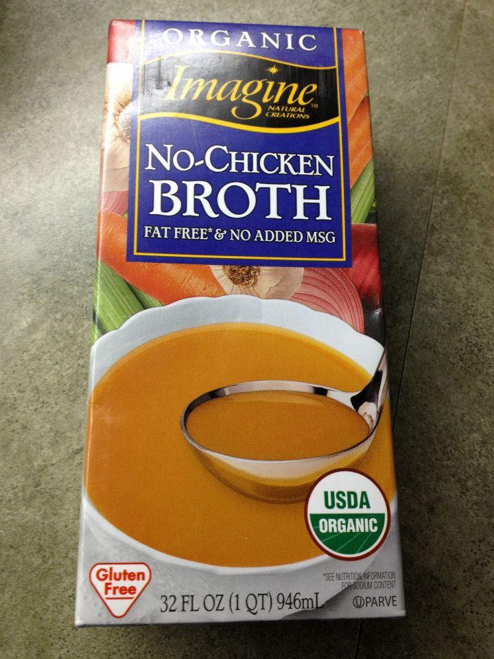 No chicken broth