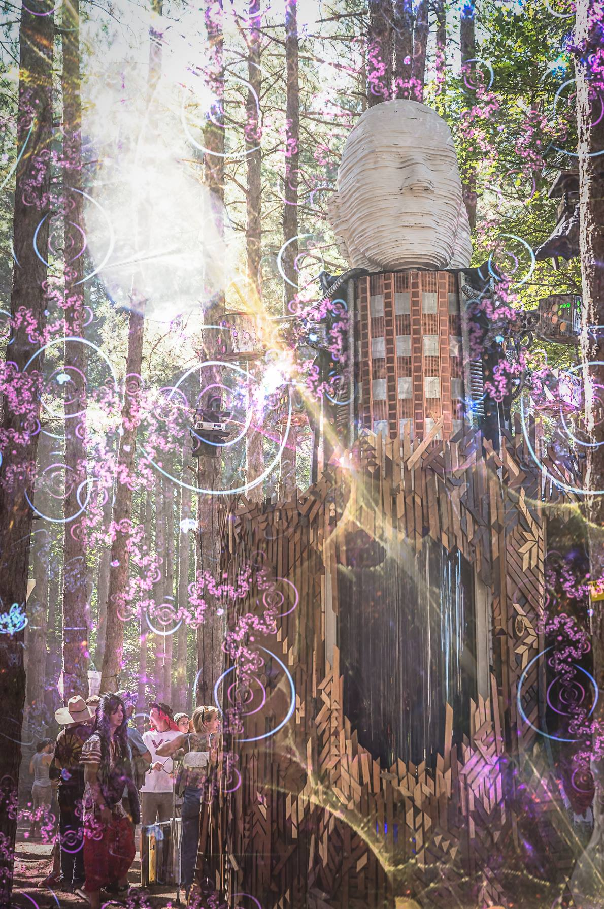 HABooth 2014 @ Electric Forest Festival.