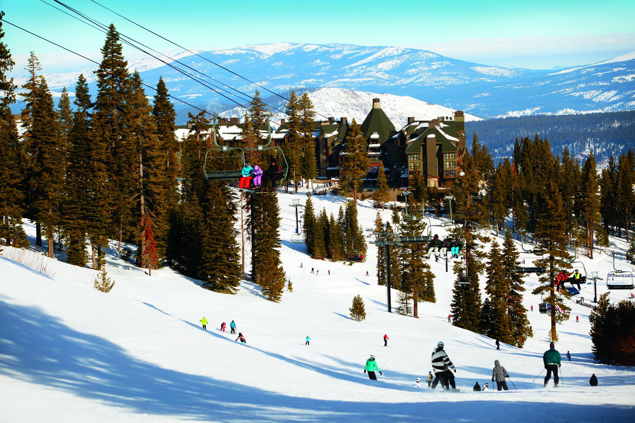 Sun, Surf, Ski - Ritz Carlton Lake Tahoe, Tatler July 2014 [ USA (Lake Tahoe) ]