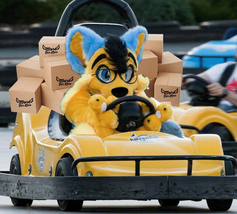 Your fursuit coming straight to you in just 2-3 days shipping! Original photo by Randorn