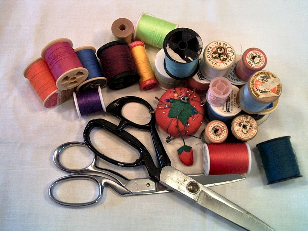 Click here to see some sewing tips and tricks -