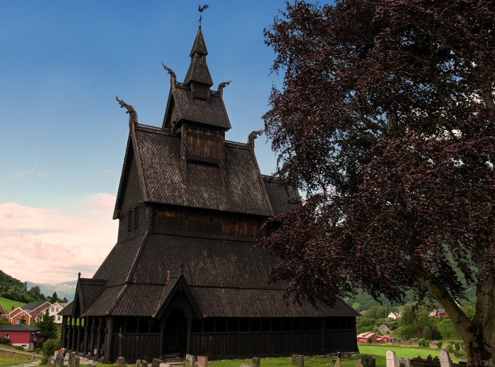 Hopperstad stavechurch, built in 1130