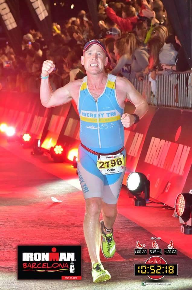 Colin Wightman  Ironman UK 2012 - 13:41:21  IM Barcelona 2015 - 10:52:18  IM Barcelona 2016 - 11:48:53