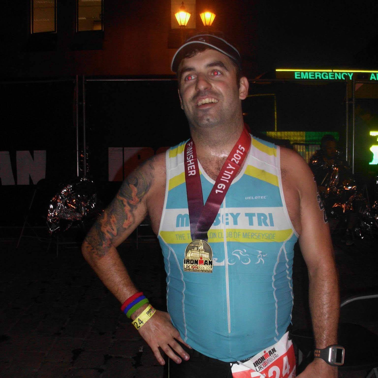 Neil Grey  Ironman UK 2015 - 16:10:59