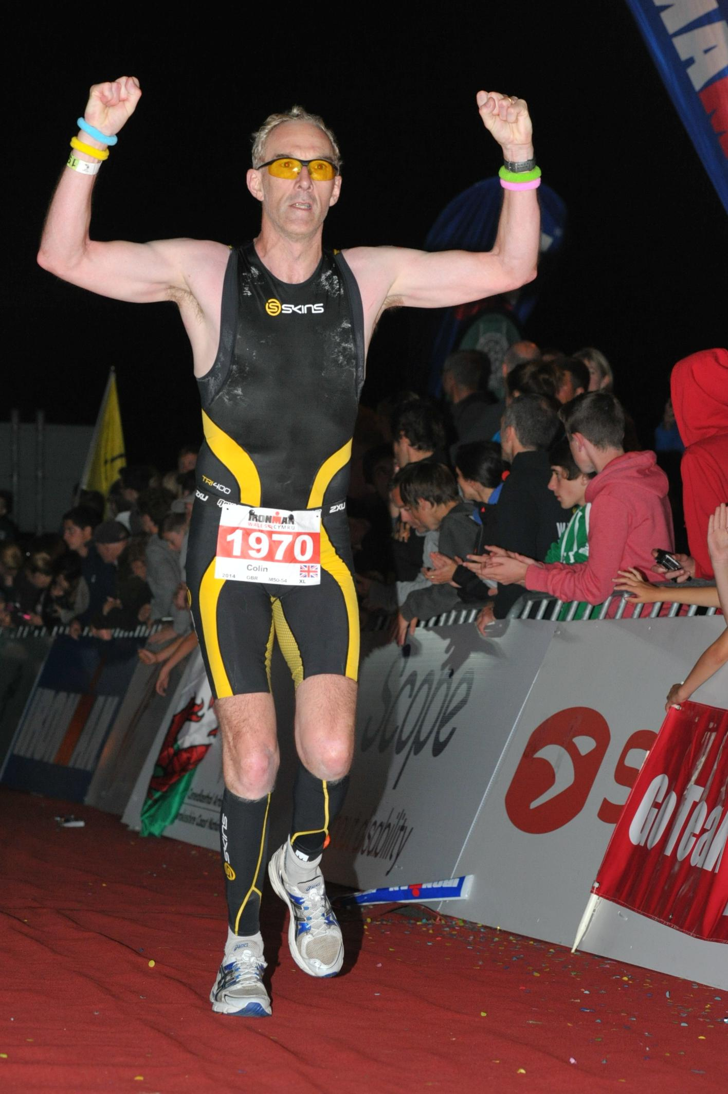 Colin Vallance-Owen  Ironman Wales: 14:05:42