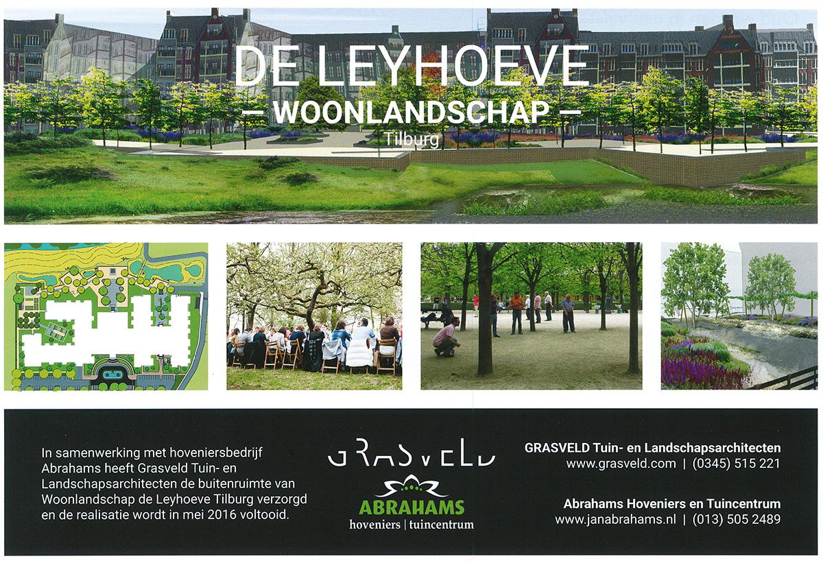 Woonlandschap de Leyhoeve mede mogelijk gemaakt door Grasveld tuin- en landschapsarchitecten en Abrahams Hoveniers